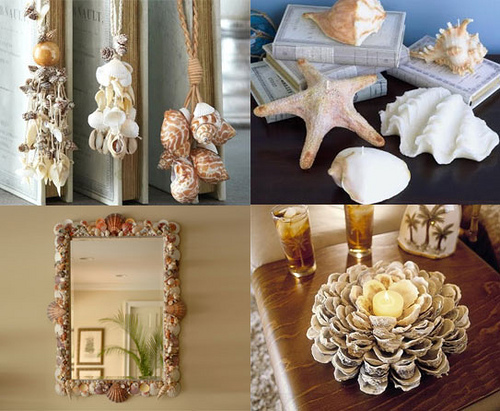 Coastal decor - beach decor. Styling the room gives you a great opportunity to have some fun. #coastaldecor